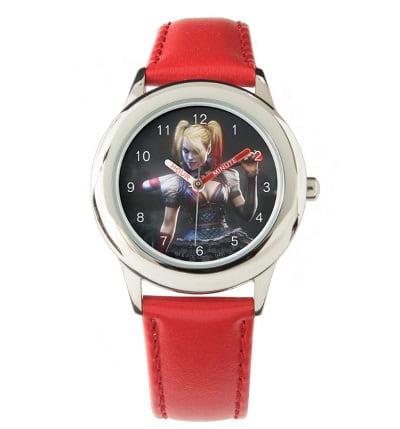 Batman Arkham Knight Harley Quinn with Bat Wrist Watch