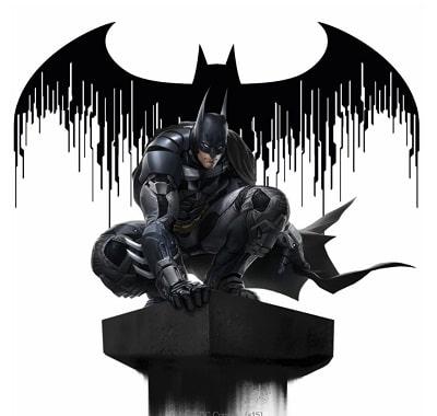 Batman Arkham Knight Sculpture