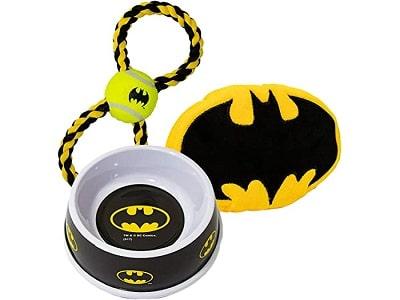 Batman Bowl and Toys Set