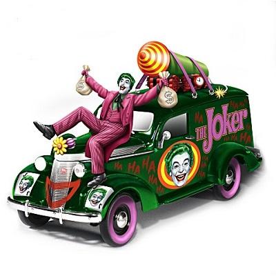 Batman Classic TV Series The Joker Hearse Sculpture