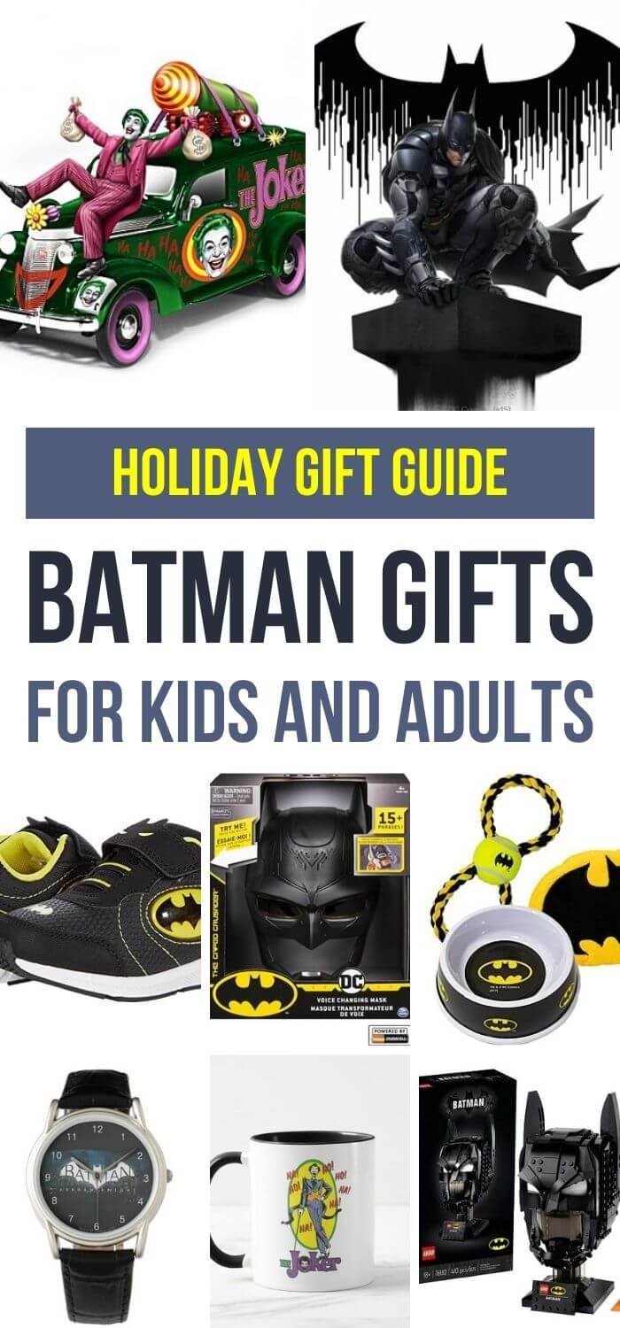 Batman Gifts for Kids and Adults