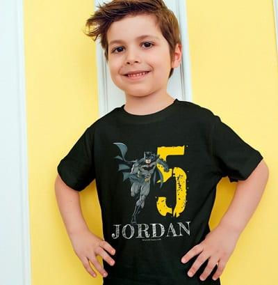 Batman Happy Birthday T-Shirt