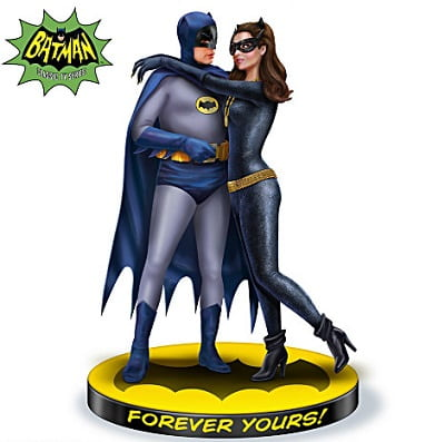 Batman and Catwoman Sculpture