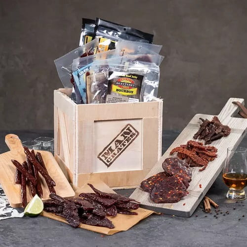 Booze-Infused Jerky Crate