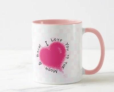 I Love You to the Moon & Back Mug