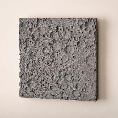 Lunar Surface Wall Sculpture