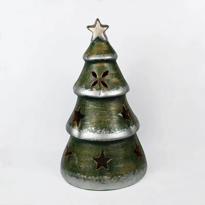 Nostalgic Ceramic Tabletop Christmas Tree