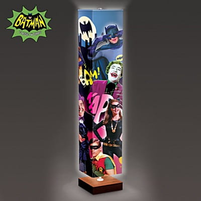 Retro 1960s Batman Floor Lamp