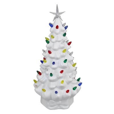 Retro Table Top Christmas Tree