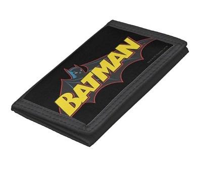 Vintage Batman Logo Trifold Wallet