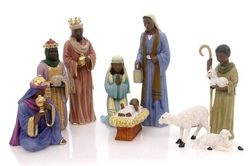 African American Nativity Set