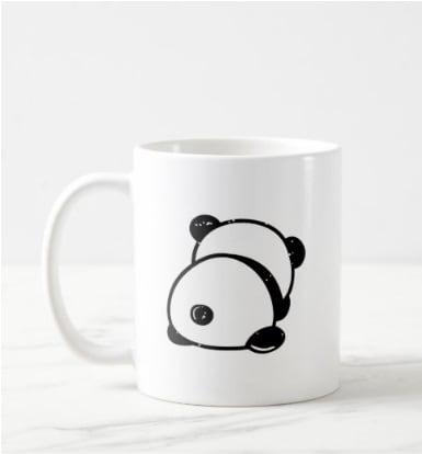 Anti-Social Panda Bear Leave Me Alone Mug