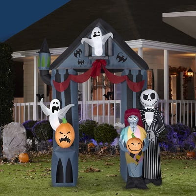 Archway Nightmare Before Christmas Inflatable