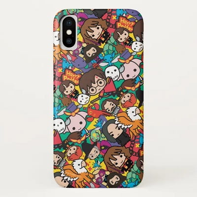 Cartoon Harry Potter Characters Phone Case