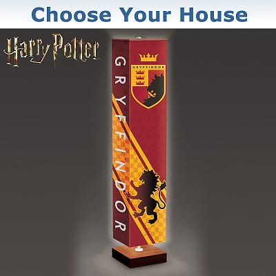 Choose Your House Harry Potter Floor Lamp
