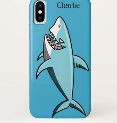 Cool Shark Personalized Phone Case