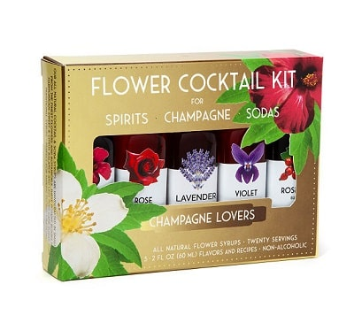 Floral Elixir Syrups - Gifts for Women In Their 20s