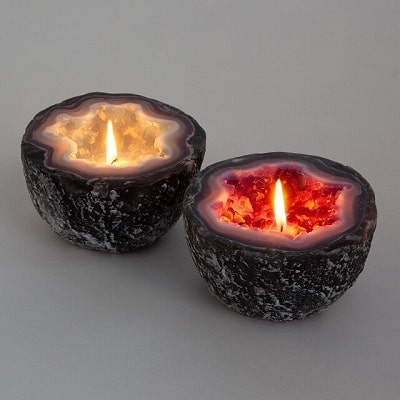 Geode Candle