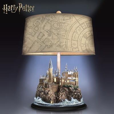 HARRY POTTER Table Lamp With Illuminated Hogwarts Castle