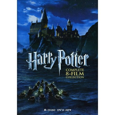 Harry Potter Complete 8-Film DVD Collection