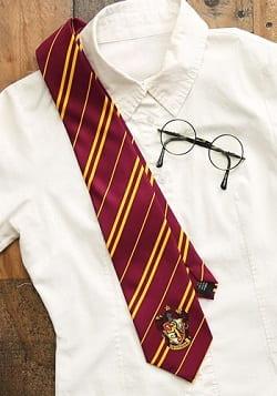 Harry Potter Gryffindor Adult Silk Tie