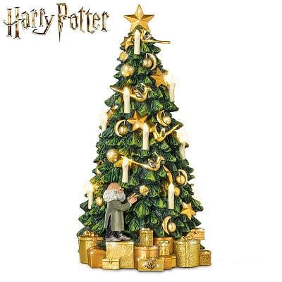 Harry Potter Hogwarts Christmas Tabletop Tree