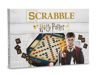Harry Potter Scrabble With Harry Potter Cards