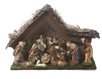 Kurt Adler 11 Piece Nativity Set
