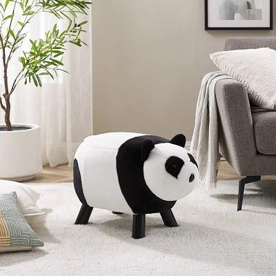 Panda Bear Kids Novelty Stool