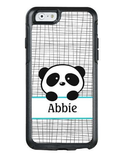Panda Bear Personalized OtterBox Phone Case - Panda Gifts