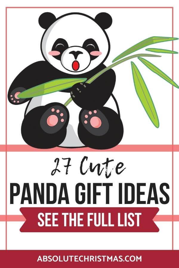 Panda Gifts for Panda Lovers