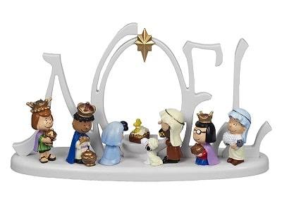 Peanuts Lighted Nativity Scene
