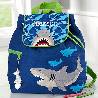 Personalized Kid's Shark Backpack
