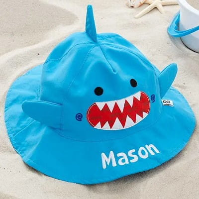 Personalized Shark Sun Hat