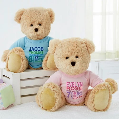 Personalized Teddy Bears For Babies