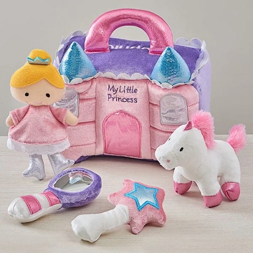 Princess Castle Personalized Playset by Baby Gund