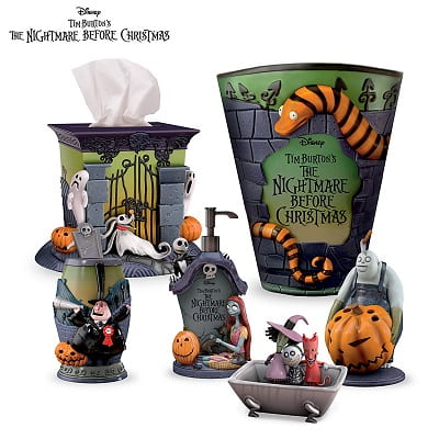 The Nightmare Before Christmas Bath Accessories
