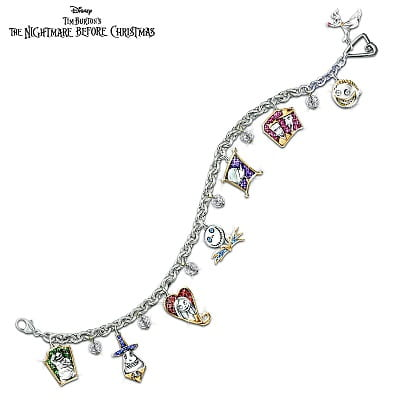 The Nightmare Before Christmas Charm Bracelet
