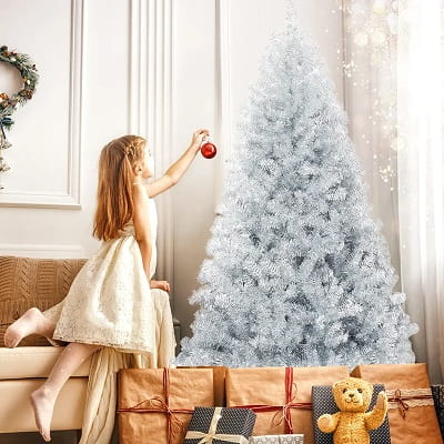 6ft. Silver Pine Artificial Christmas Tree