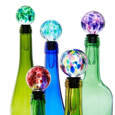 Birthstone Wine Bottle Stopper - Gifts for Women In Their 40s