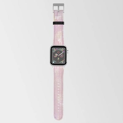Blush and Gold Apple Watch Band