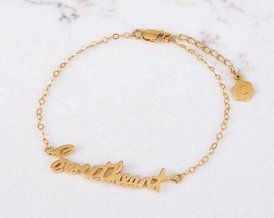 Custom Signature Bracelet