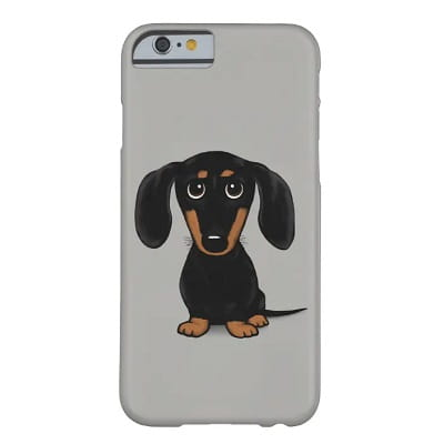 Cute Dachshund Phone Case