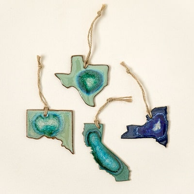 Geode State Ornament