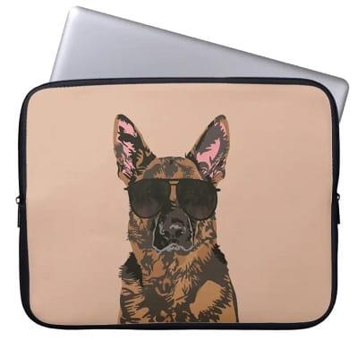 German Shepherd Laptop Sleeve