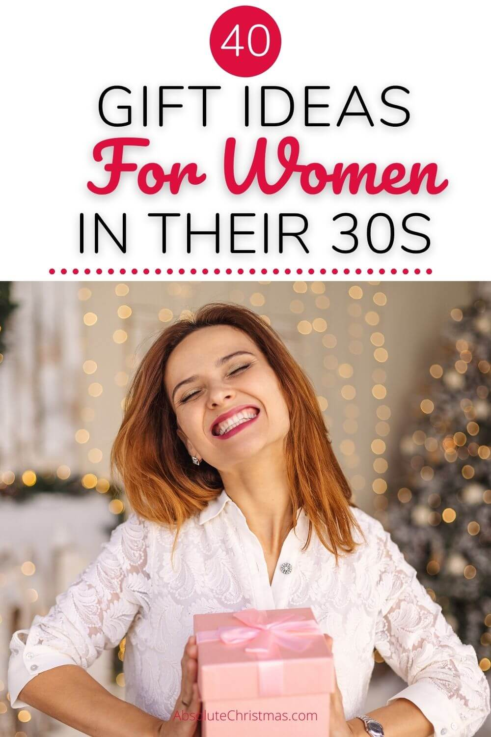 Gifts for Women In Their 30s - Gift Guide Woman 30s