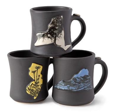 Handmade Home State Mugs