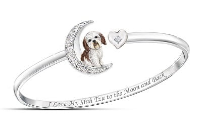I Love My Shih Tzu To The Moon And Back Bracelet