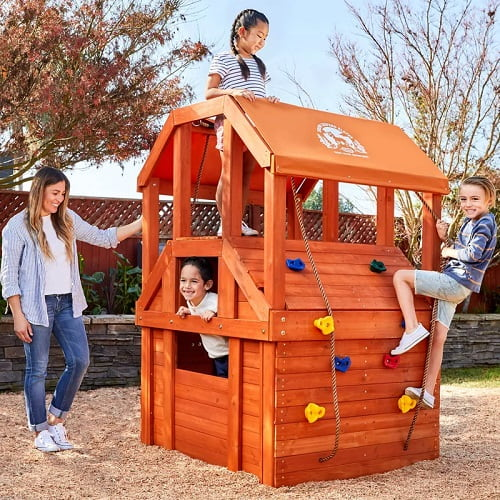 Little Tikes Real Wood Adventures Climb House