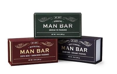 Man Bar Soap Set